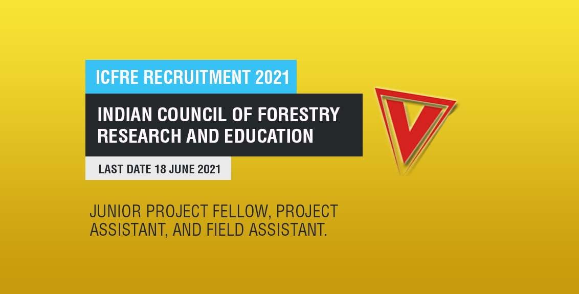 ICFRE Recruitment 2021 Job Listing Thumbnail