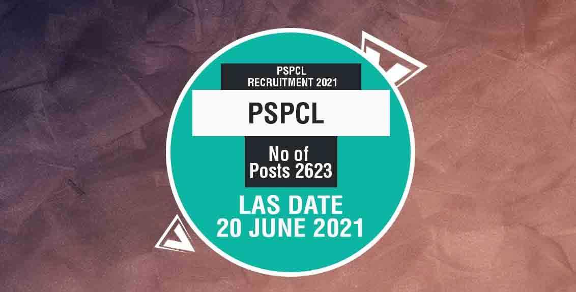 PSPCL Recruitment 2021: Punjab State Power Corporation Limited Job Listing thumbnail.