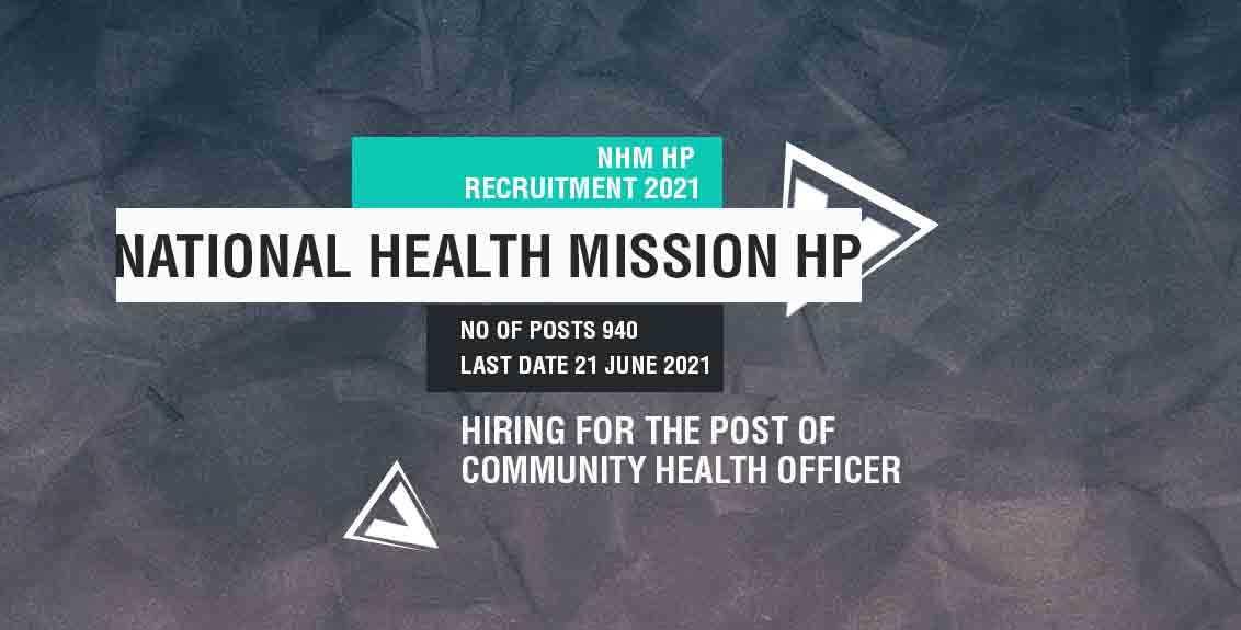 NHM HP Recruitment 2021 Job Listing Thumbnail.