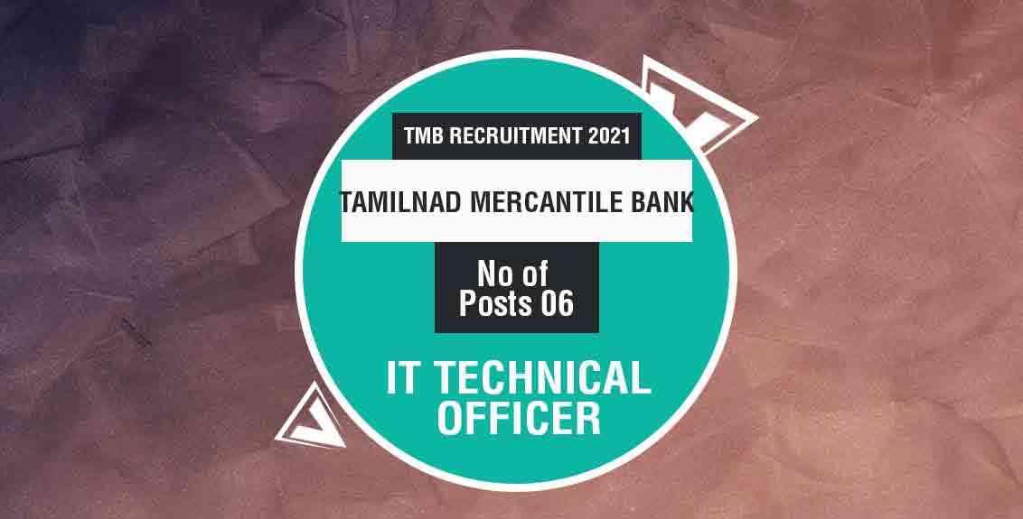 TMB Recruitment 2021 Job Listing Thumbnail.