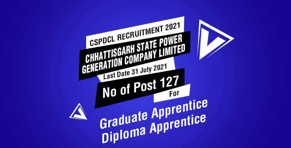 CSPDCL Recruitment 2021 Job Listing Thumbnail.