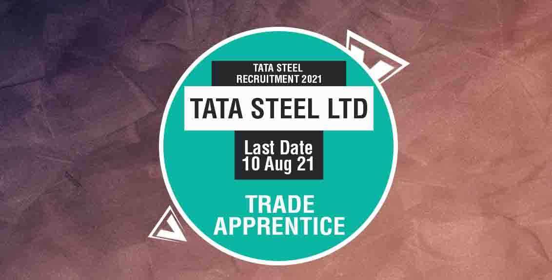 Tata Steel Recruitment 2021 Job Listing thumbnail.