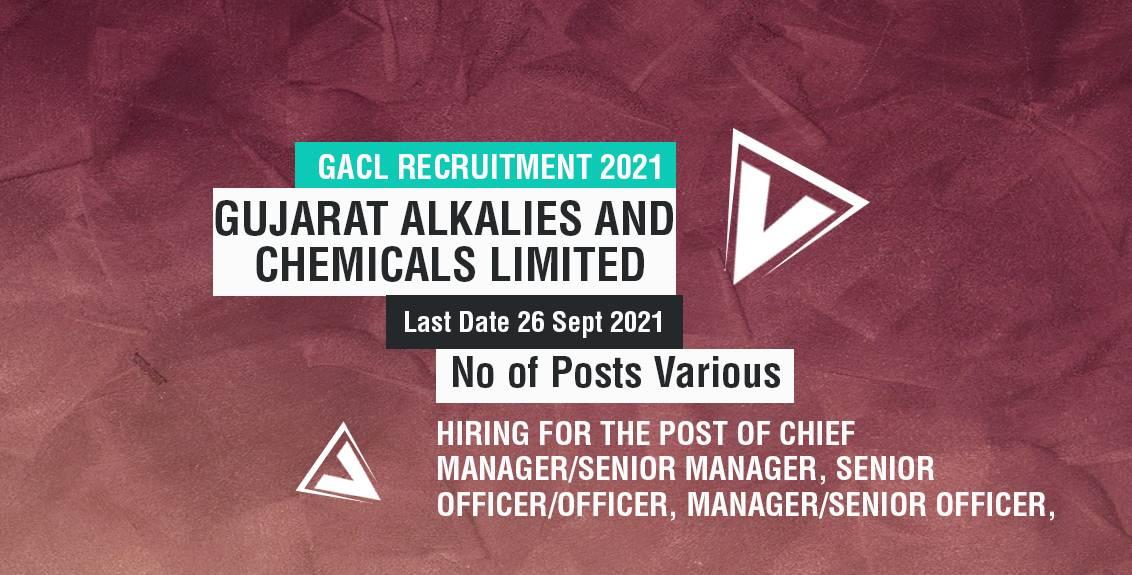 GACL Recruitment 2021 Job Listing Thumbnail.