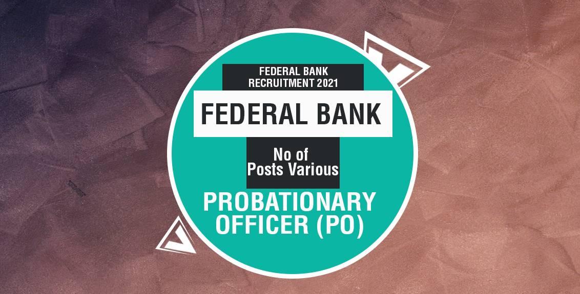 Probationary Officer (PO) Job Listing thumbnail.