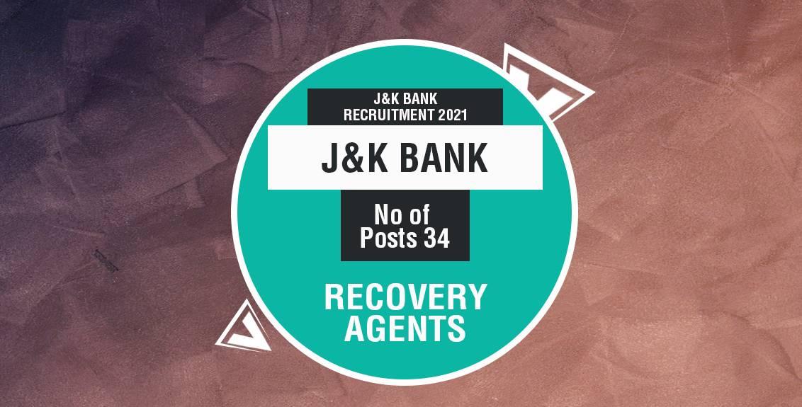 J&K Bank Recruitment 2021 Job listing thumbnail.